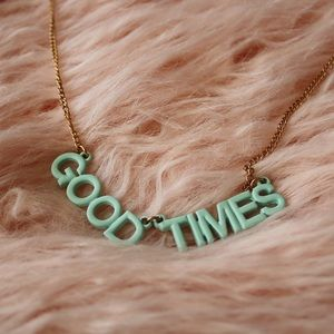 Ban.do Good Times Party Banner Necklace